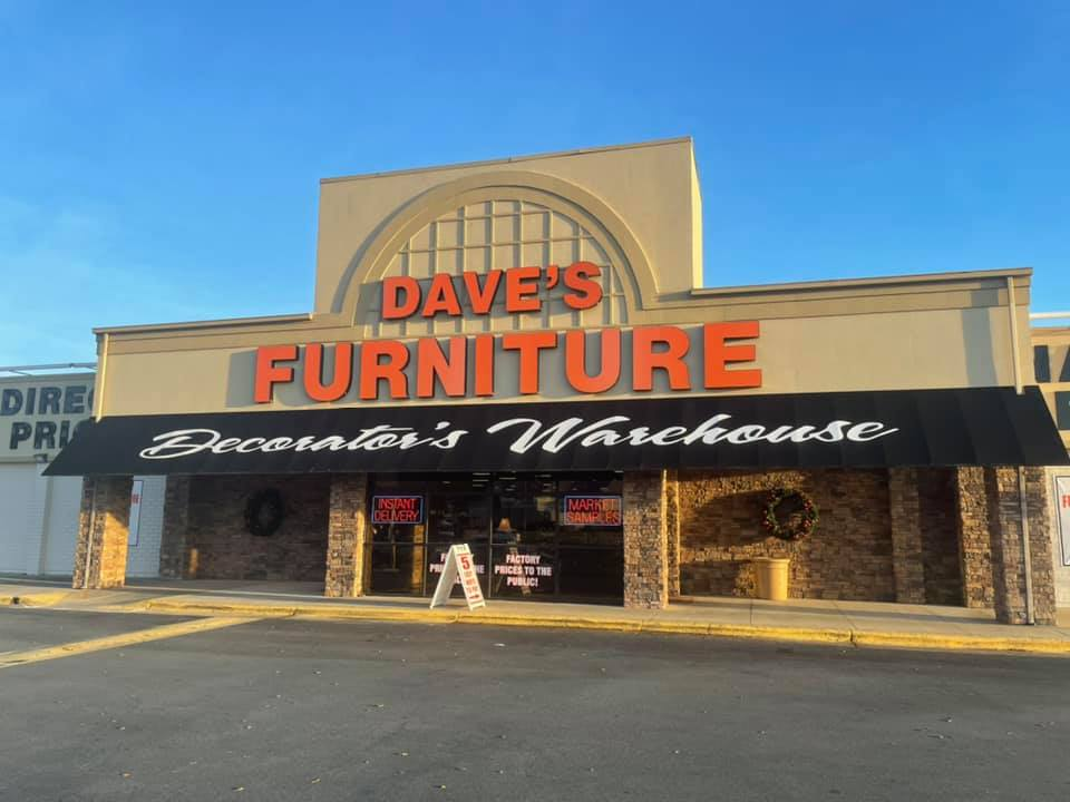 daves123 Furniture and Mattresses in Burlington, Whitsett, and Graham